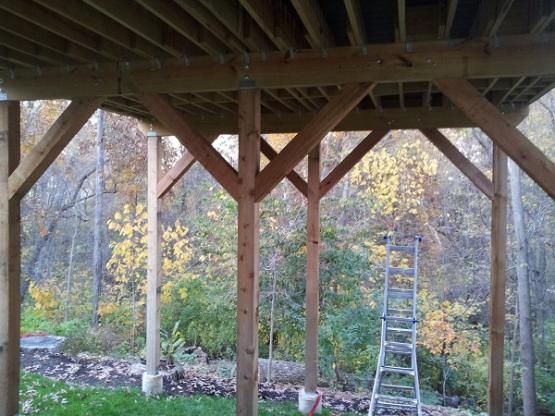 Deck Support Post Cross Bracing Google Search Deck Images Pinterest Decking Porch And