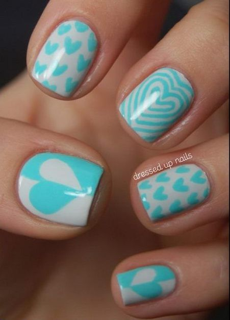 Easy nail designs for beginners so cute and simple that you can do easy nail designs for beginners so cute and simple that you can do it yourself valentine solutioingenieria Choice Image