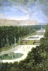Bosquet des Trois-Fontaines, c. 1690 by Jean Cotelle
