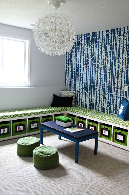 A Wall To Installation Of Suit Yourself Linen Carpet Tiles By Flor I Heart Organizing