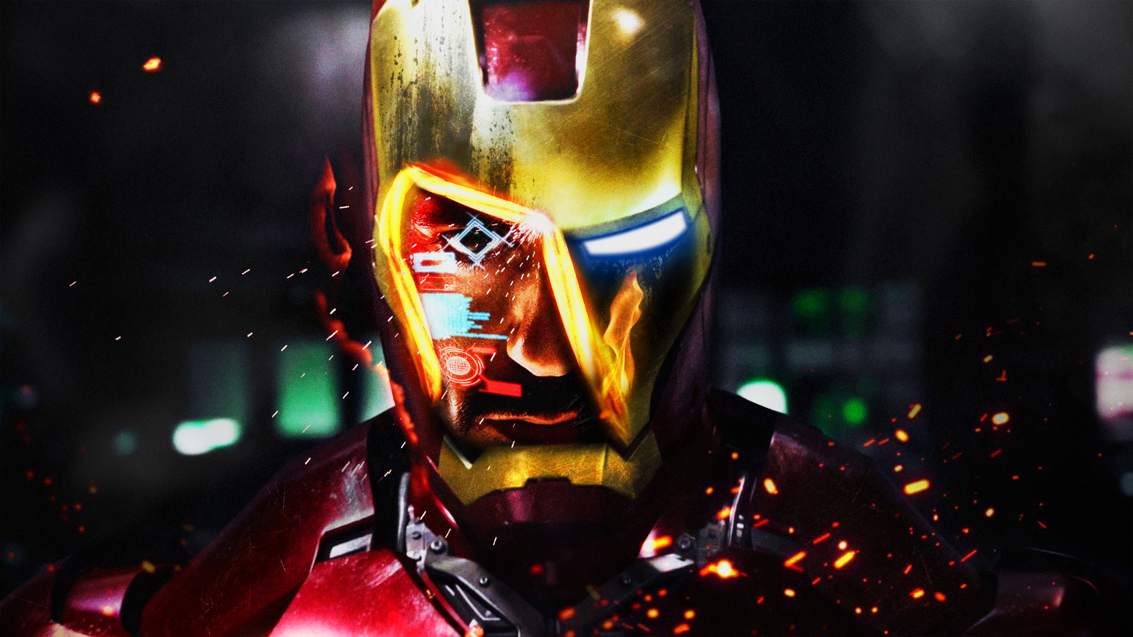 Ironman 4k Superheroes Wallpapers Iron Man Wallpapers Hd