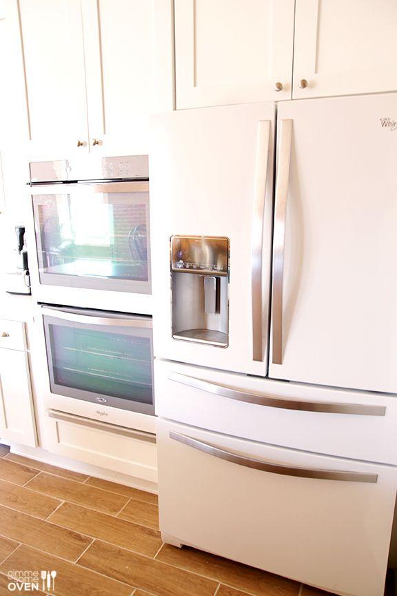 kitchen remodel part 3 the reveal white kitchen appliances white appliances kitchen design on kitchen remodel appliances id=21166