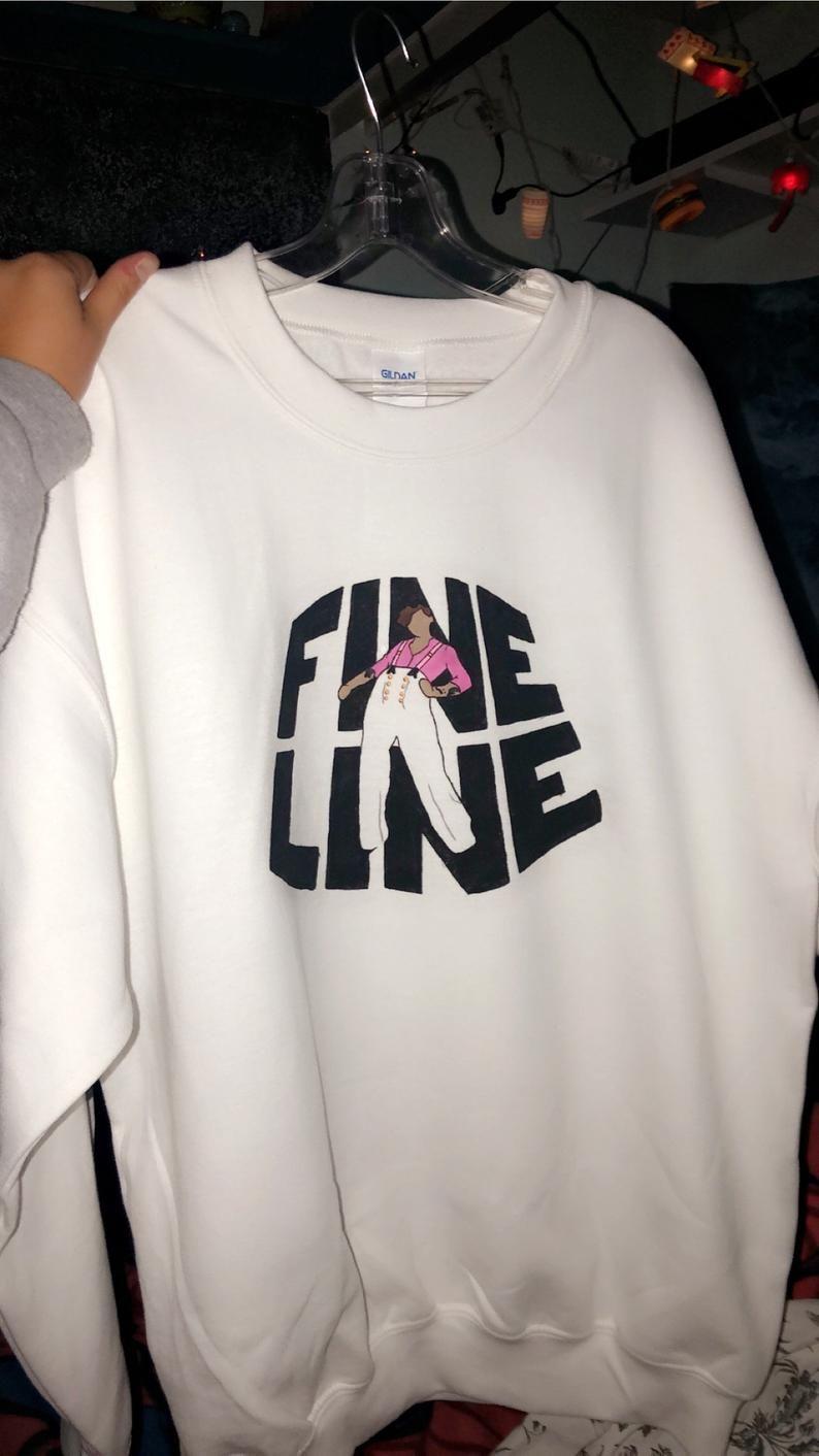 Custom made Harry Styles Fine Line Crew