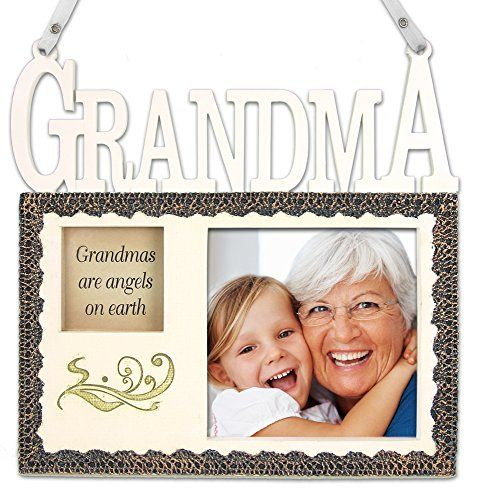 grandma hanging picture frame plaque grandmas are angels on earth grandmother frame gifts