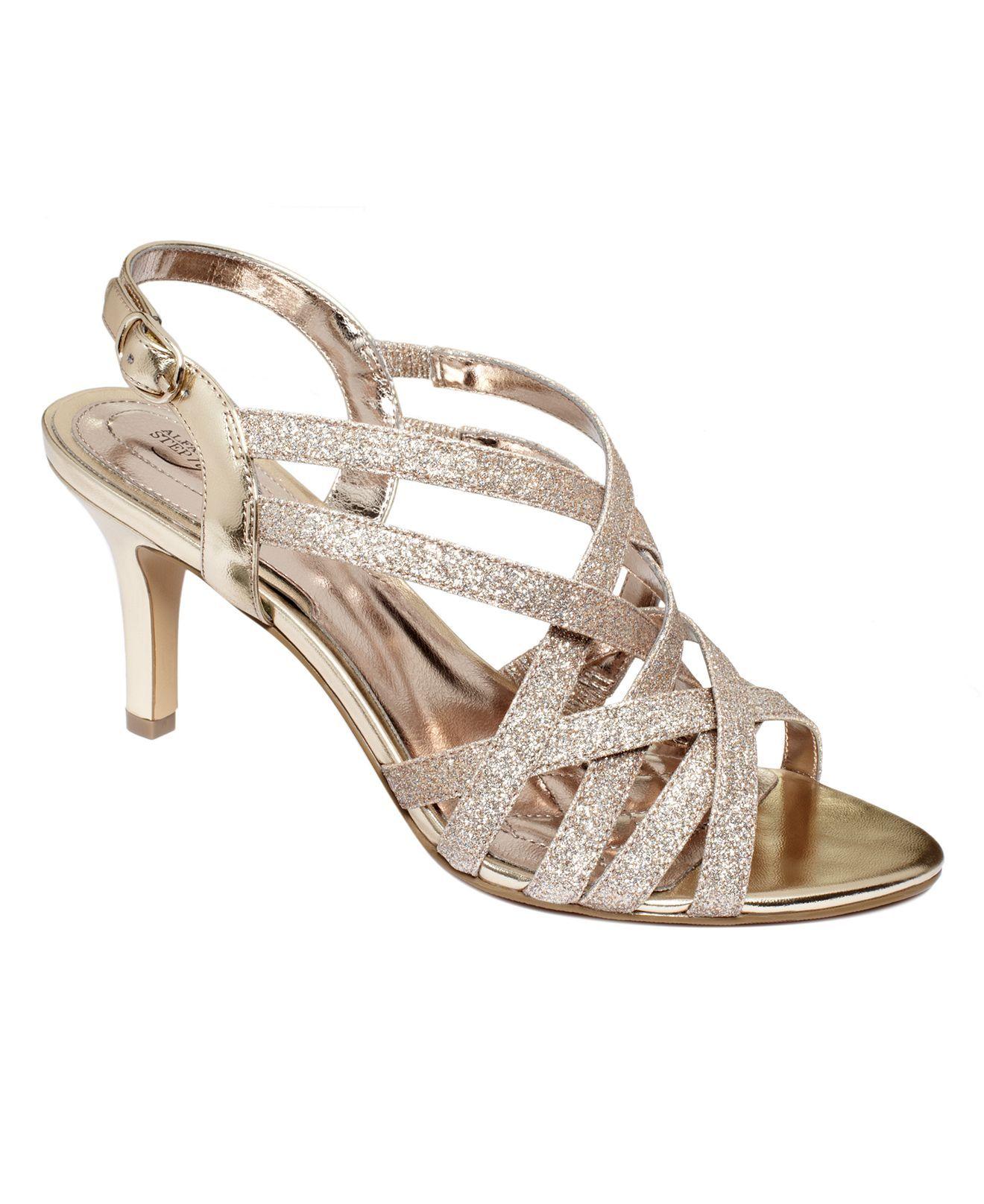 Alfani Womens Shoes Alisa Evening Sandals Evening Bridal Shoes Macys Bridal Shoes Low Heel Evening Sandals Womens Evening Shoes