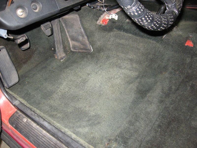 Car diy how to dye your faded auto carpet car carpet