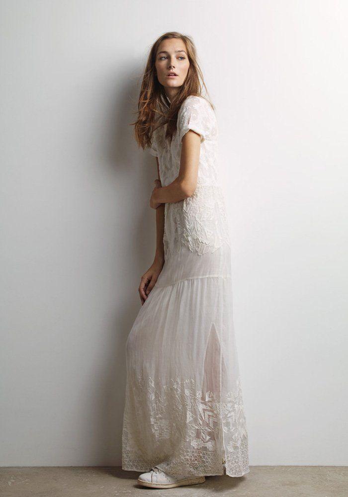 Robe blanche marie claire