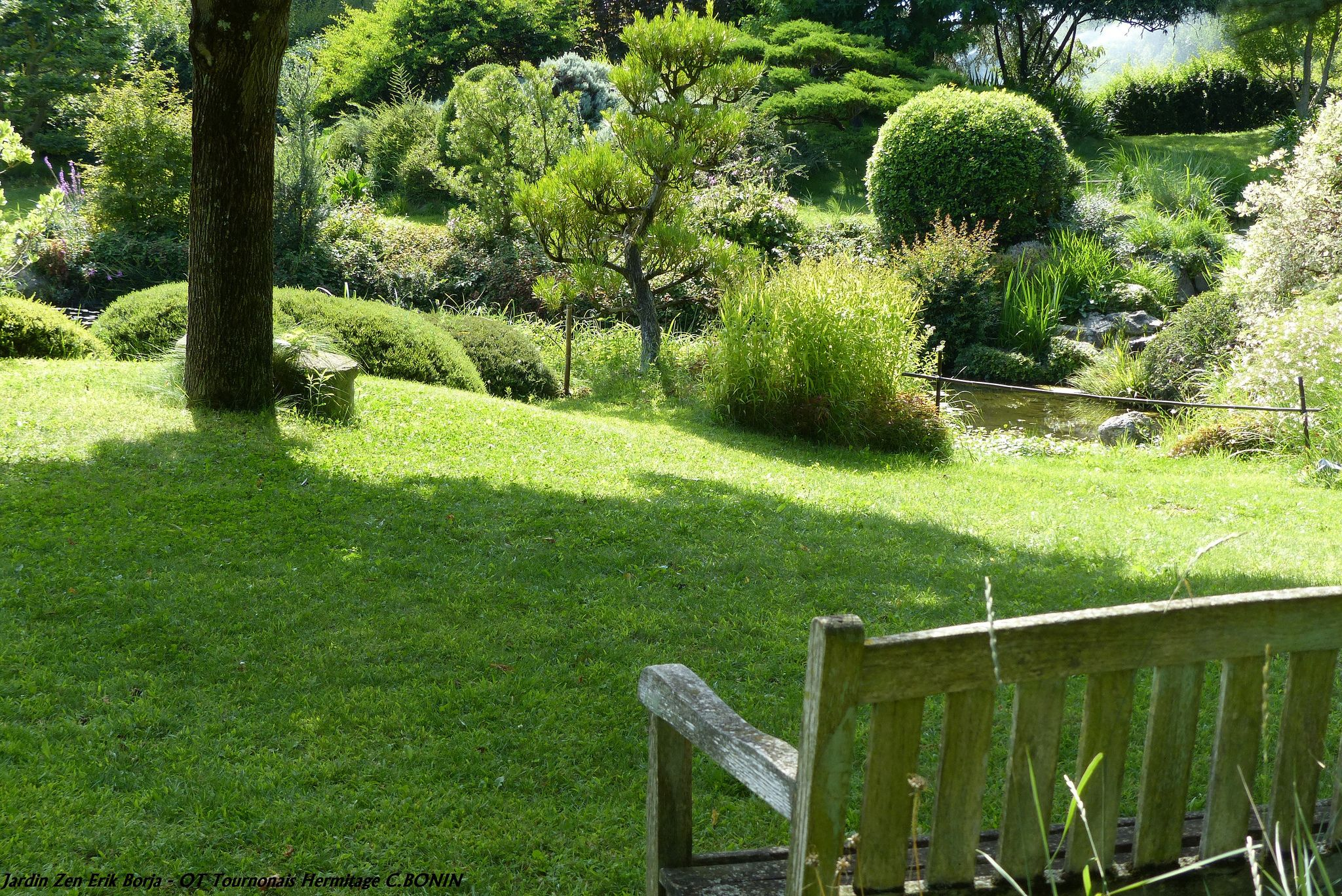 Jardin Zen Erik Borja Jardins Vignoble Et Zen