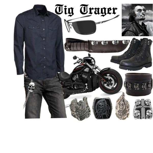 Tig Trager Sons Of Anarchy Inspired Outfit Clothes Design Clothes Fashion