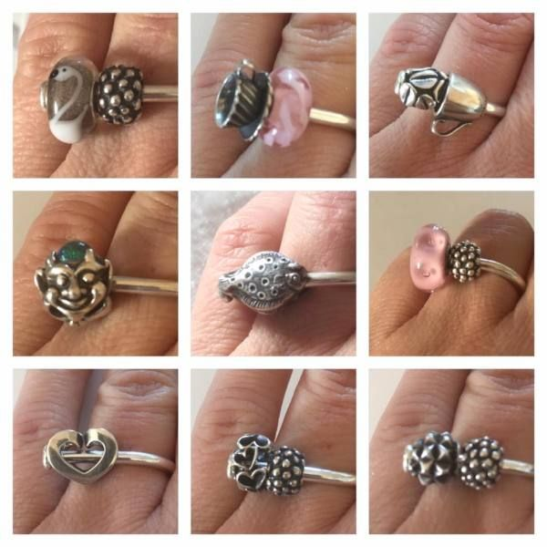 Ring of change (NEW)- as worn by a Trollbeads collector! On Trollbeads Gallery Forum!