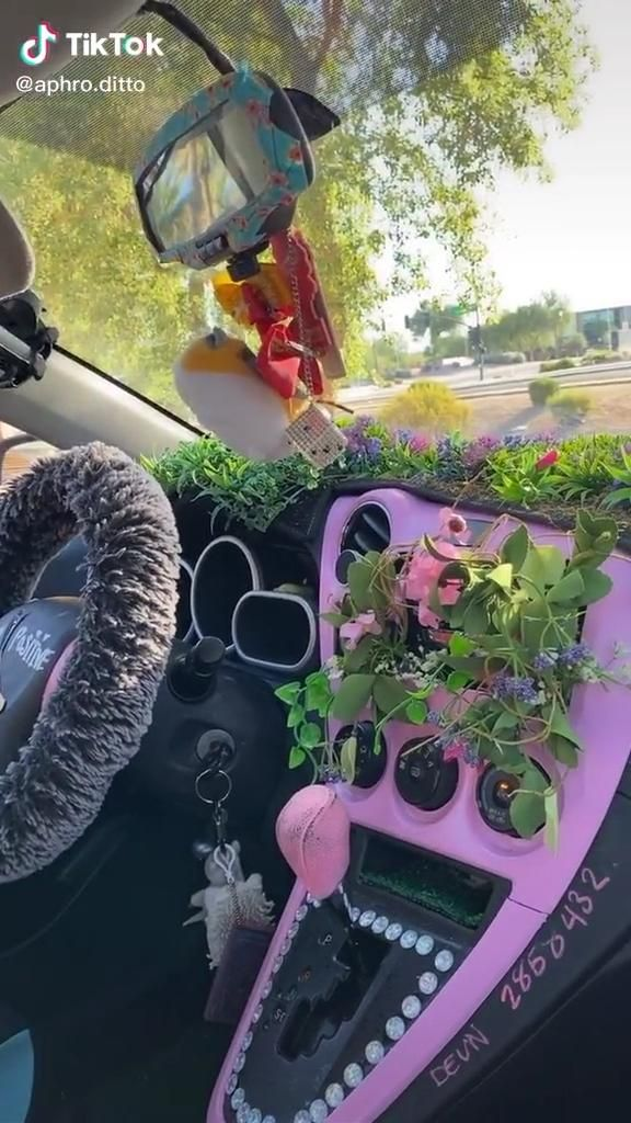 Car Interior Video Hippie Car Car Interior Diy Car Accessories