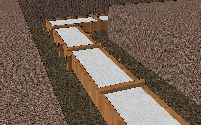 How to build a concrete foundation concrete steps