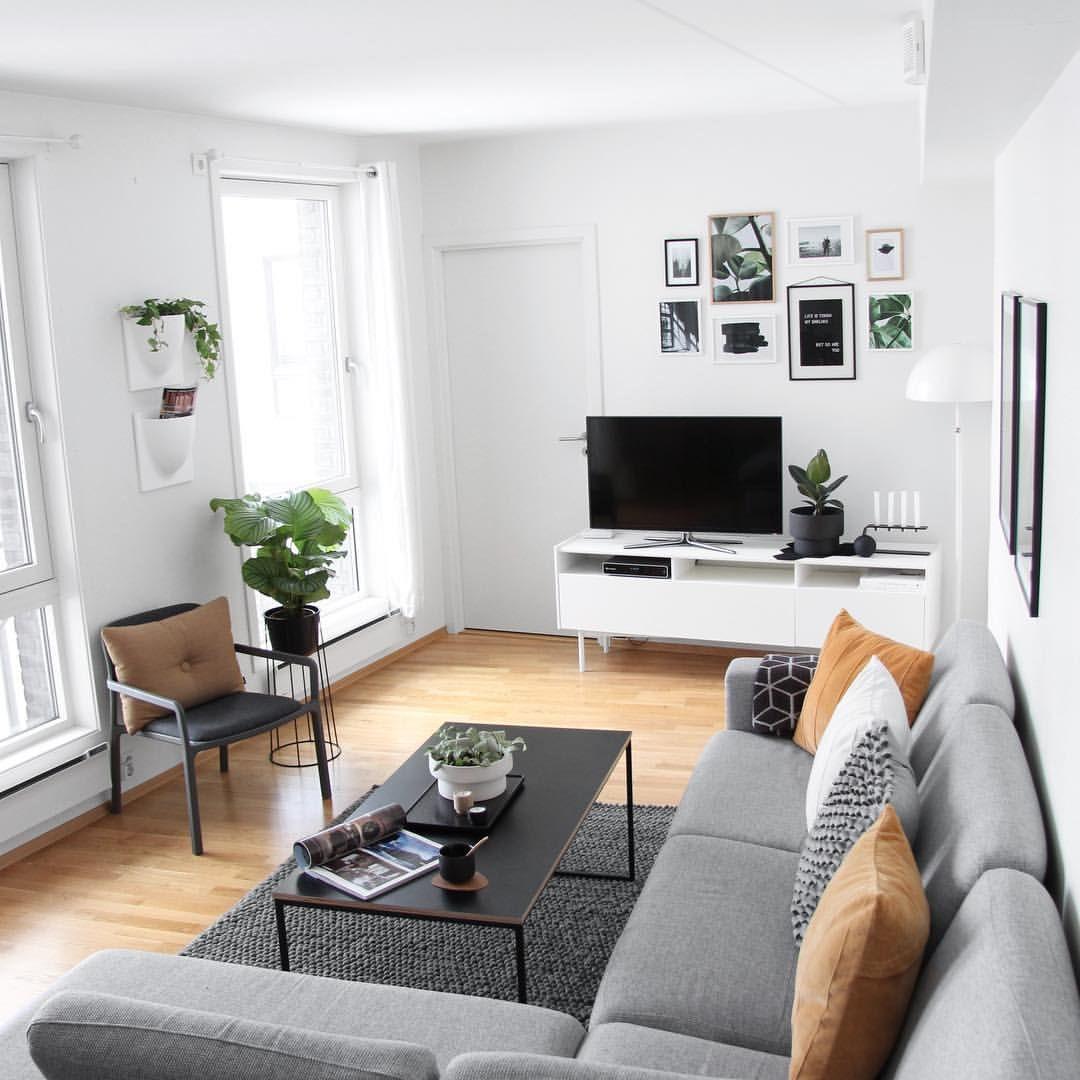 Farbkonzept Weiß Grau Schwarz Und Braun Wohnzimmer