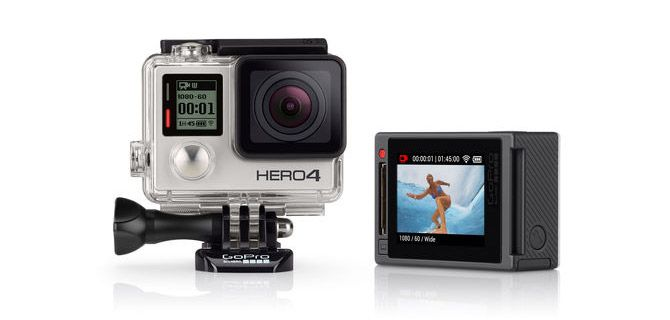 The best selling GoPro Hero4 Silver is a feature packed action camera, that has everything you need for shooting professional sports and action videos.
