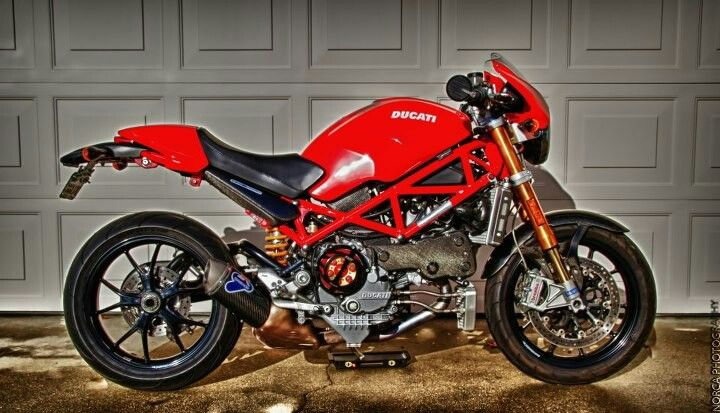 My S4rs Before The Tail Chop Ducati Monster S4 Fast Bikes
