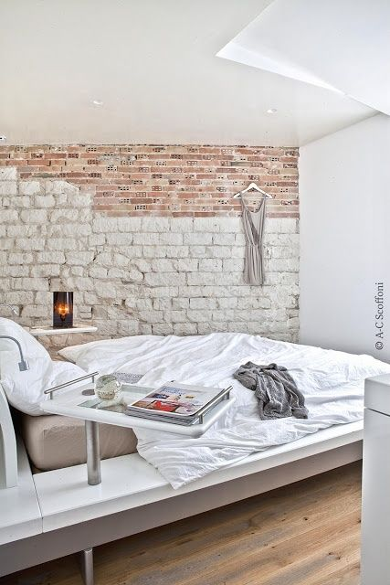 Impressive Bedrooms With Brick Walls DigsDigs For The Home - 65 impressive bedrooms with brick walls