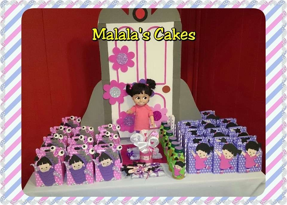 Boo Monsters Inc Birthday Party Ideas Photo 1 Of 26