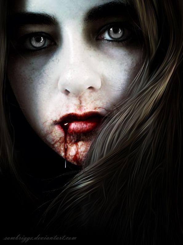 Vampire Playmate VI by SamBriggsdeviantart on @deviantART