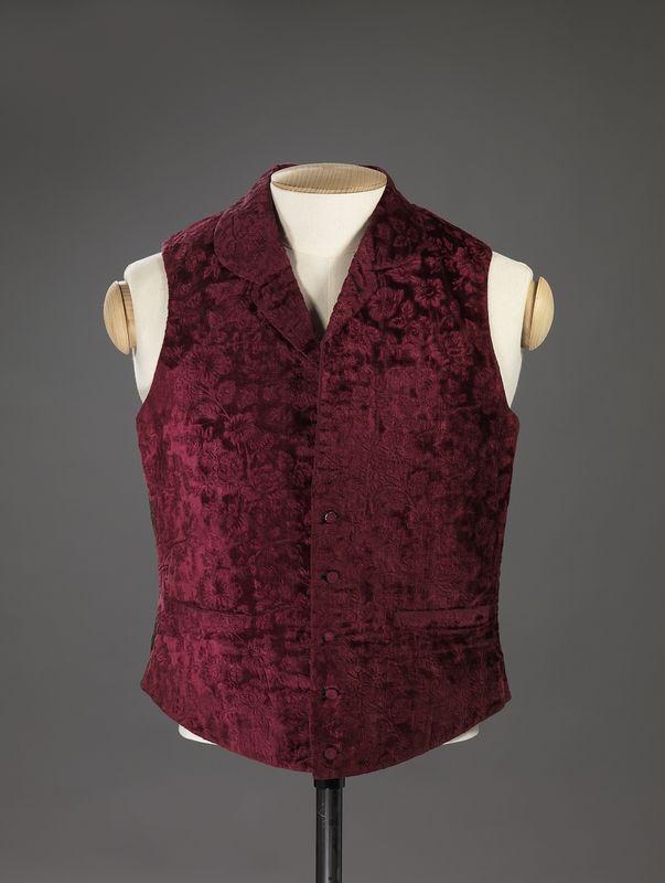 2b99de2546 Waistcoat 1840-1860