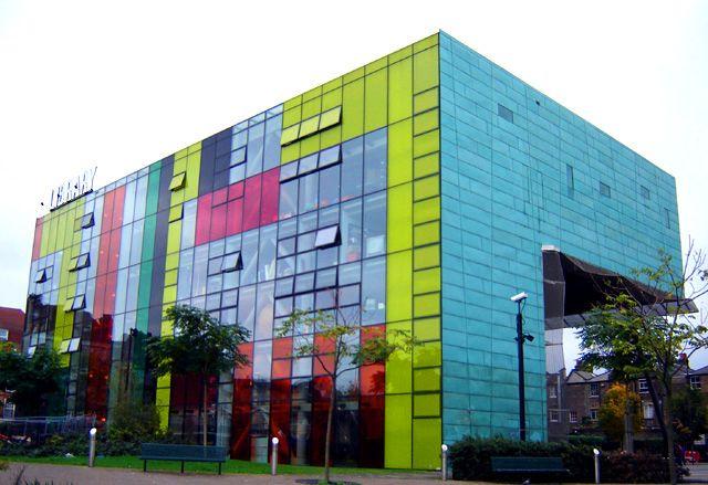 peckham public library. london, uk