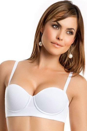 d18ccd4bef Leonisa Anti-Bulging Support and Control Strapless Push-Up Bra 011654