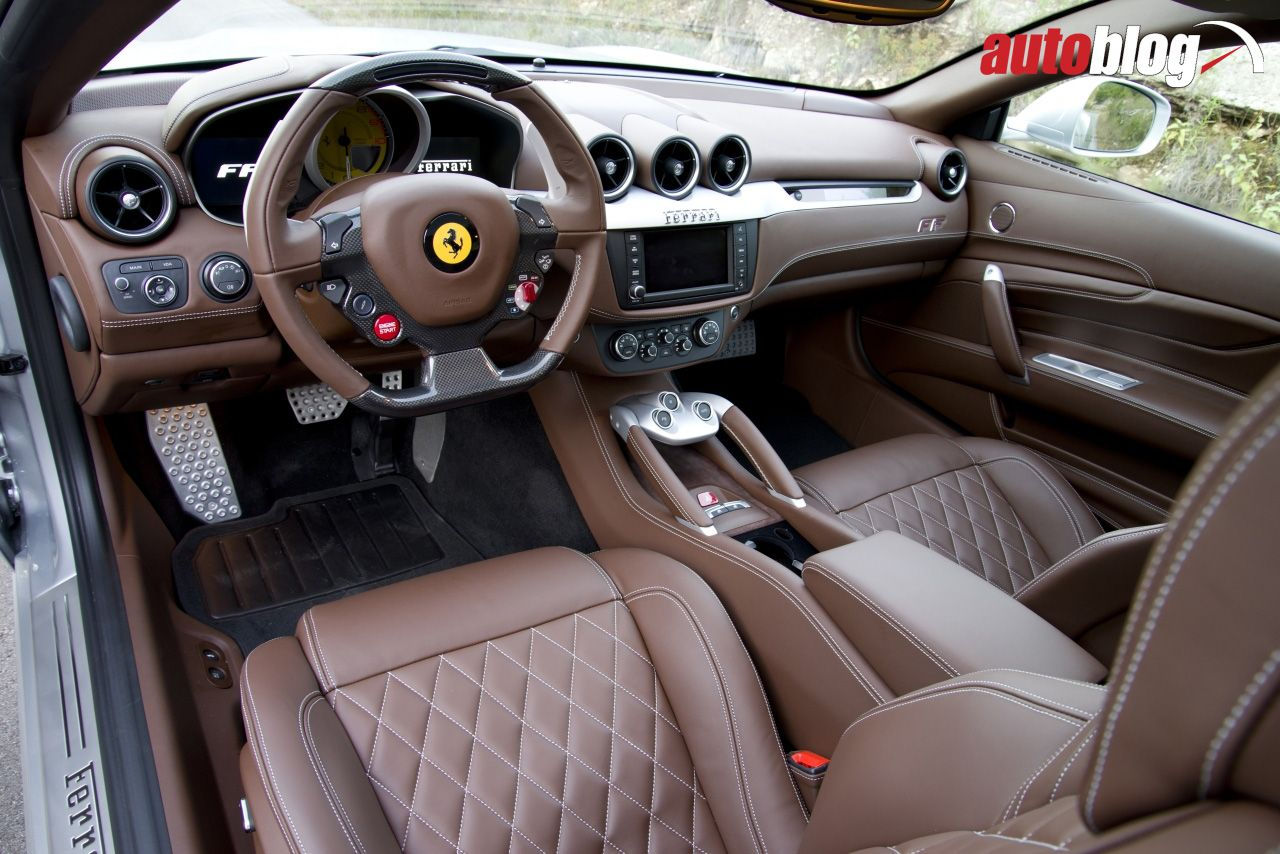 Elegant 2014 Ferrari FF Interior. Our Quick Spin Review   U003e Aol.it/