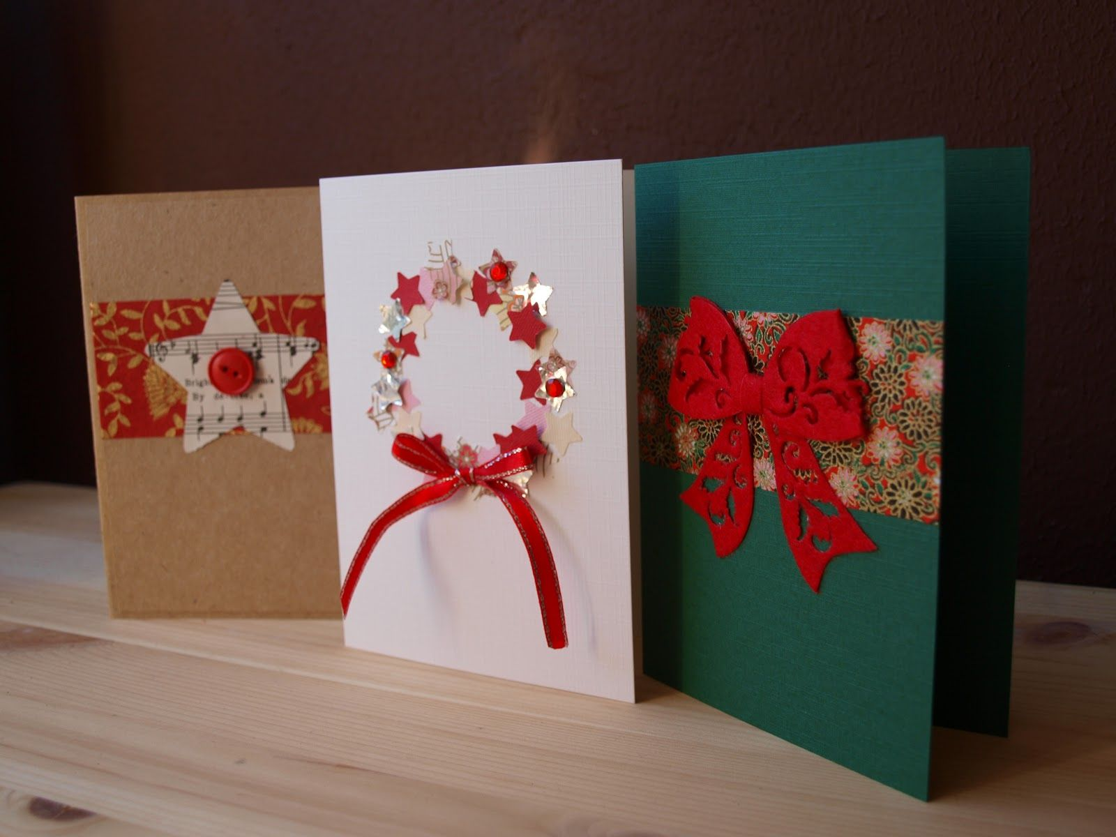 Christmas Craft Ideas | Paper cards | Pinterest | Christmas Cards ...