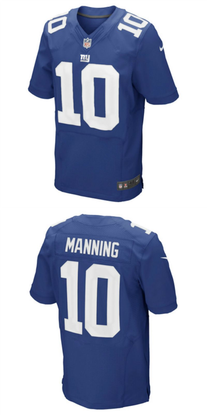 check out cf6d7 06f0f UP TO 70% OFF. Eli Manning New York Giants Nike Elite Jersey ...