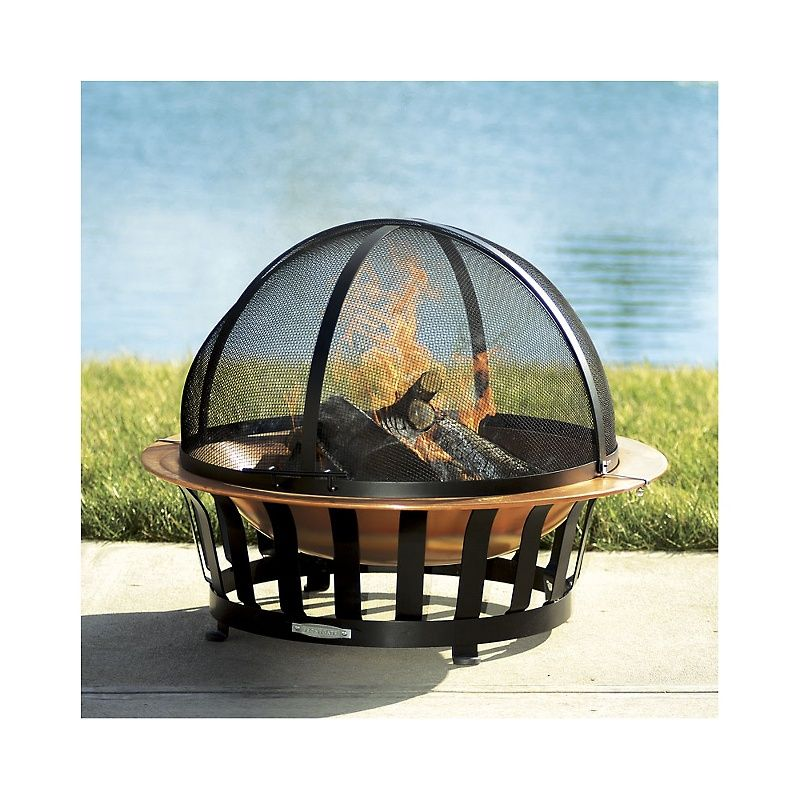 Frontgate Dome Firepit Spark Screen 159