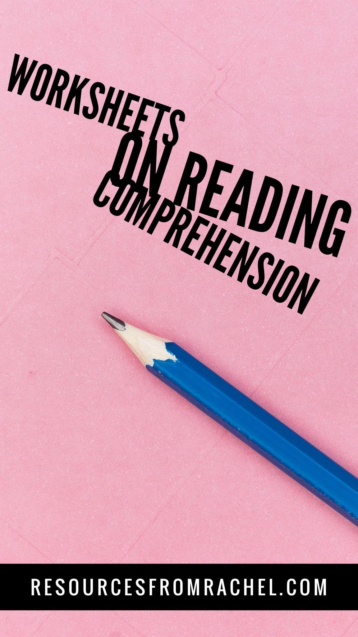 Worksheets On Reading Comprehension In