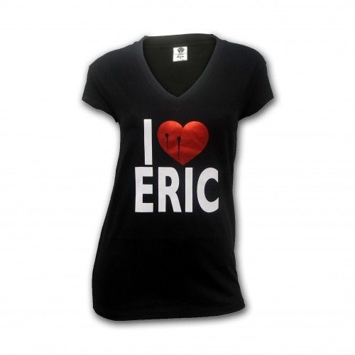 True Blood I Heart Eric Women's V-Neck T-Shirt
