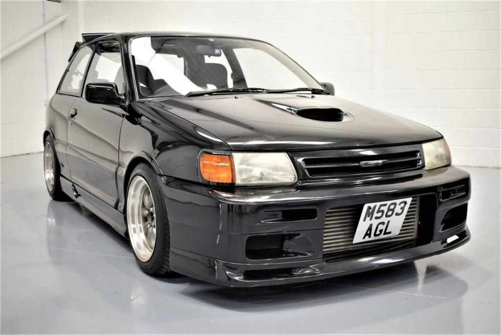 Looking For A 1994 Toyota Starlet Gt Turbo Kitted Ep82 Classic Shape 2 Door Sports This One Is On Ebay Toyota Starlet Toyota Toyota Corolla