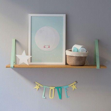 Moon mint lámina | Kids | Pinterest