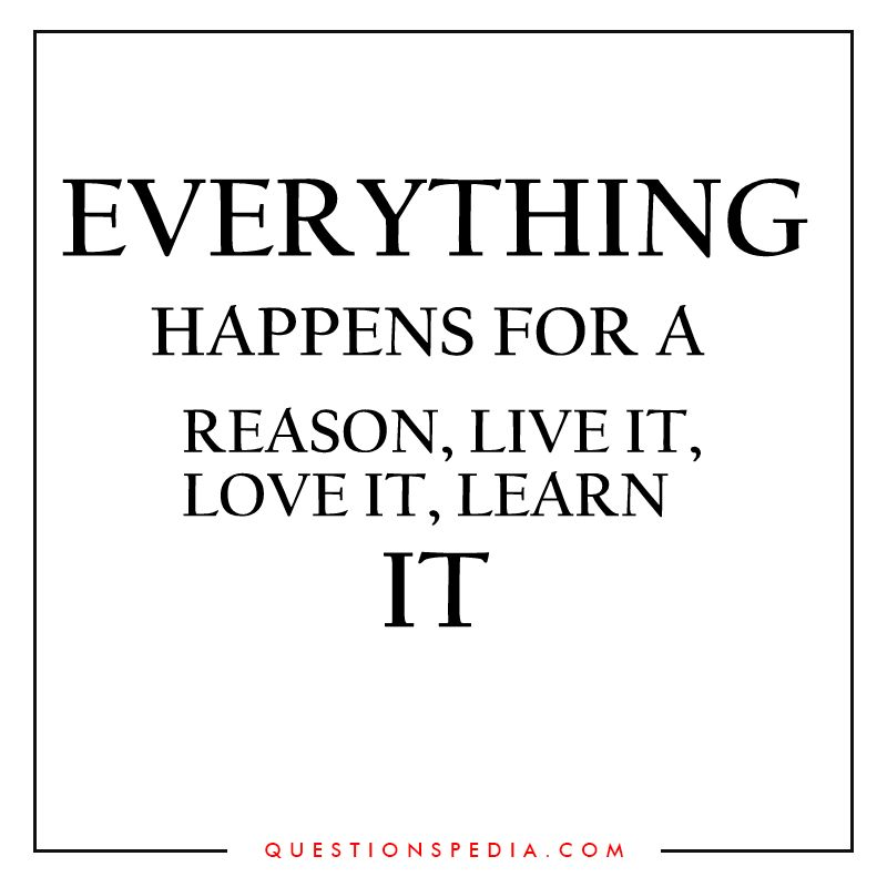 Latest Everything Happens For A Reason Quotes Quotes Pinterest