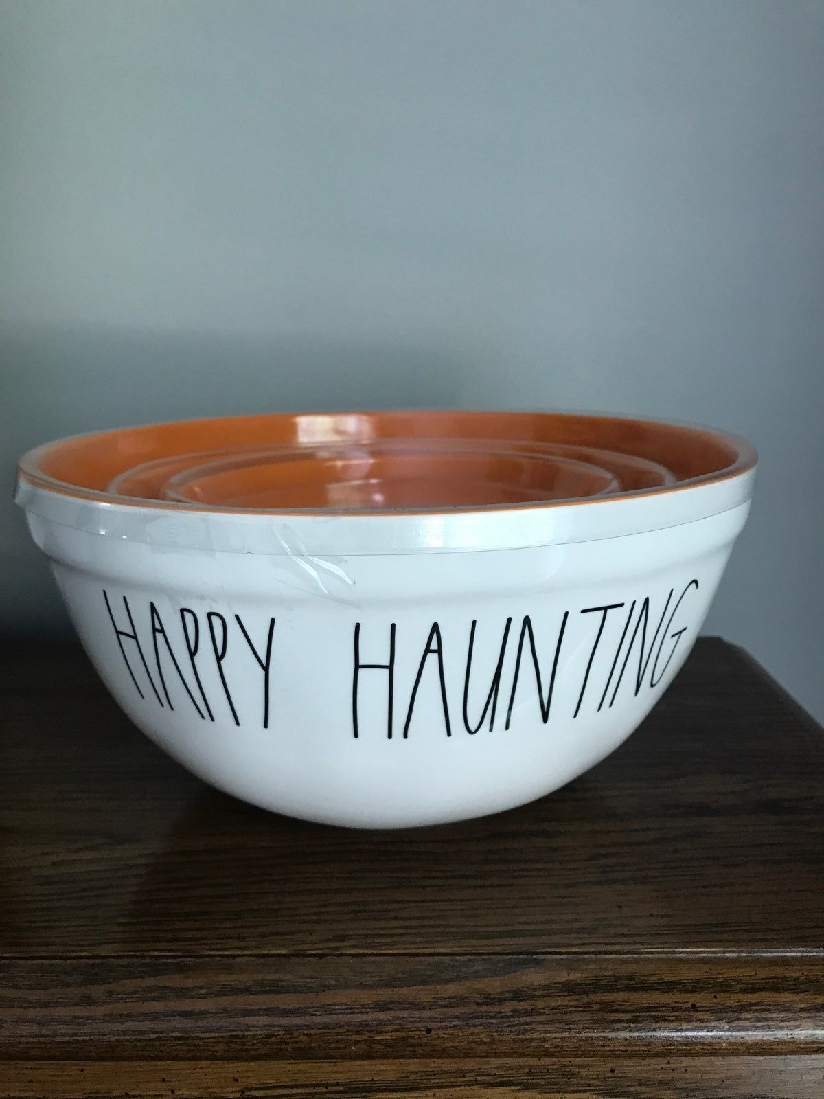 New Set Of Rae Dunn Halloween Melamine Bowls Perfect For Use With