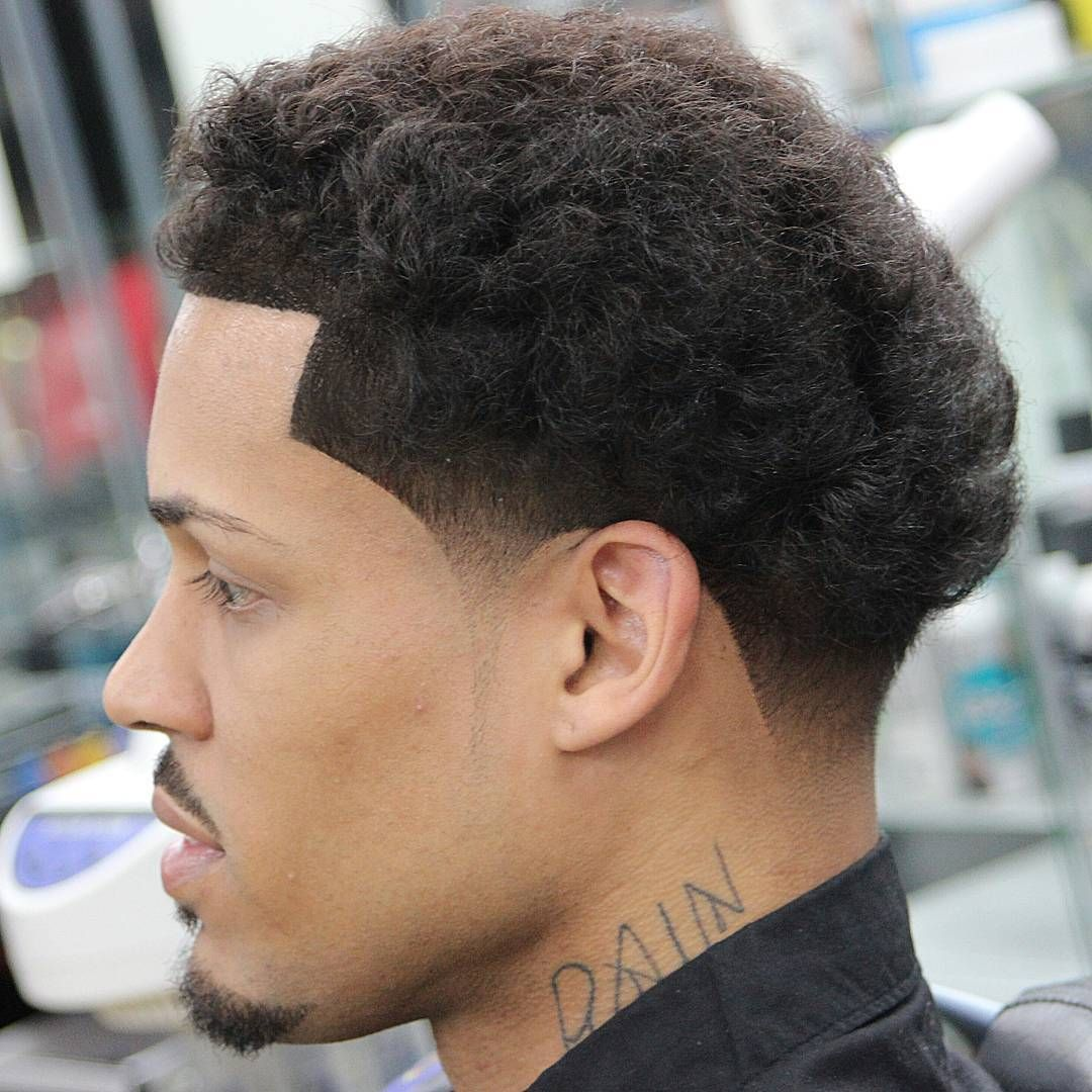 Awesome  Creative Taper Fade Afro Haircuts Keep It Simple - Afro taper haircut