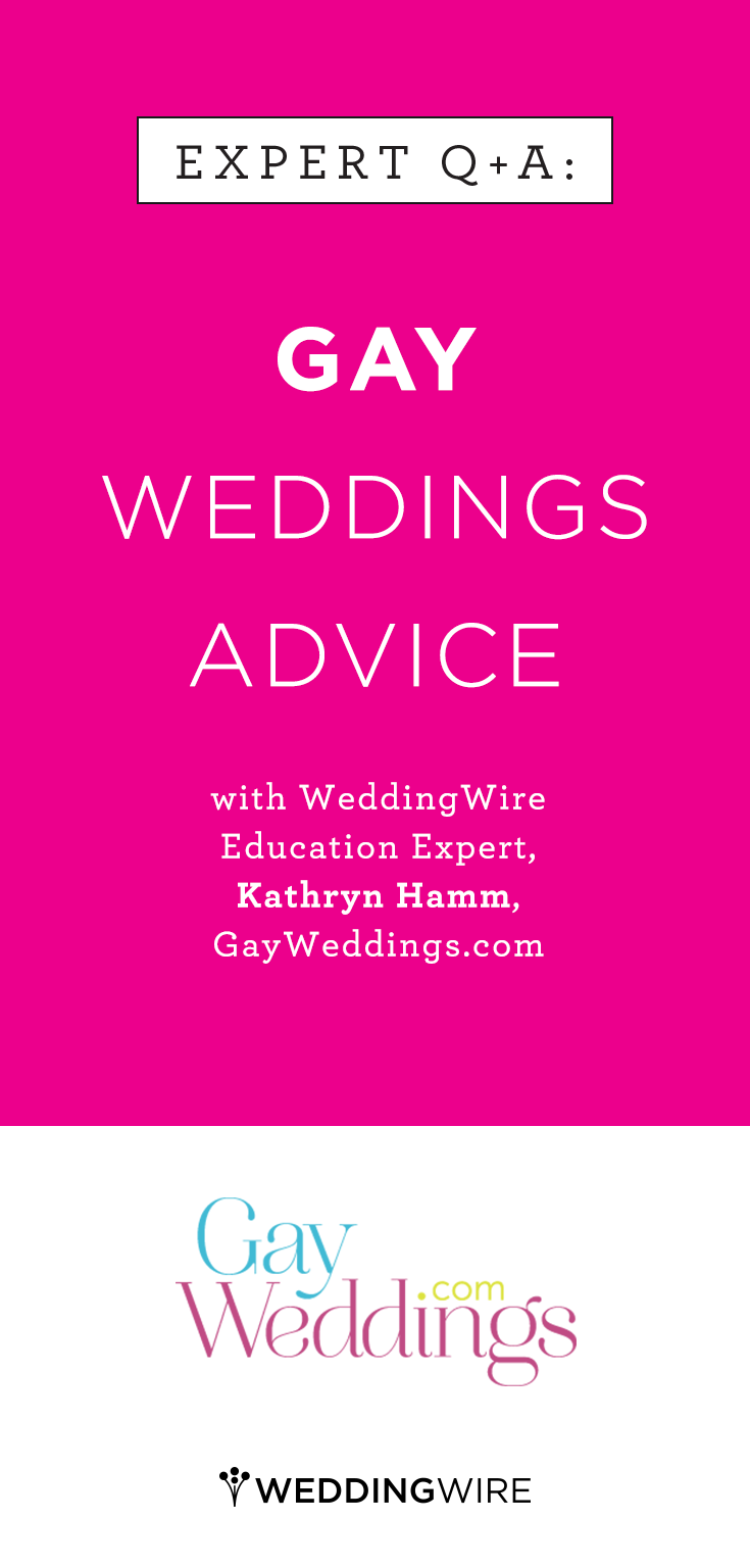 The Best Advice For Same Sex Couples Who Are Planning Their Wedding