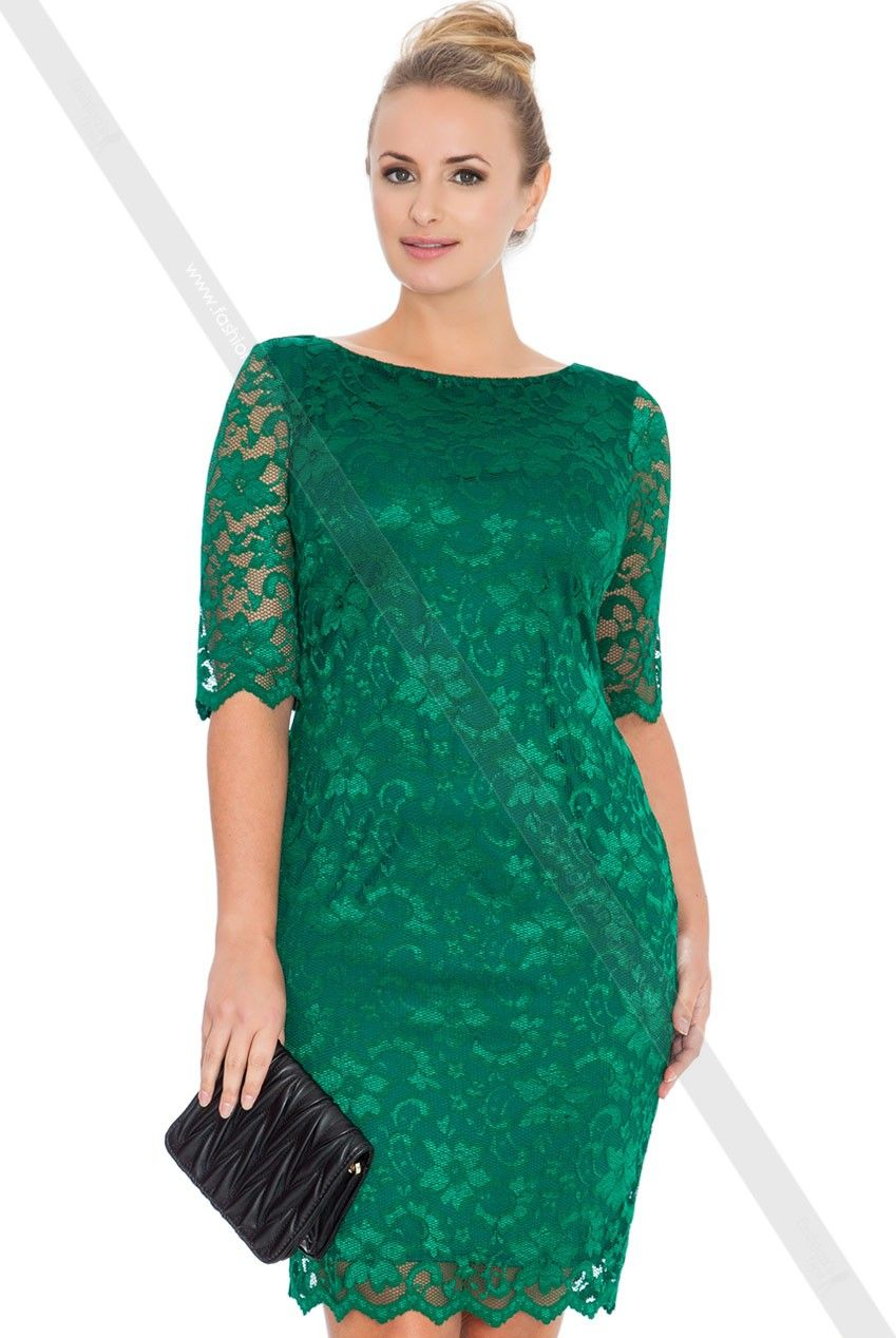kleid k1078-3 - Übergröße - damen | modestil, kleider für