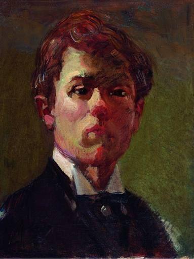 0raoul_dufy_retrato_del_artista_1898_centre_pompidou