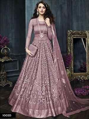 Designer anarkali salwar kameez suits Indian bollywood pakistani wedding dress 3