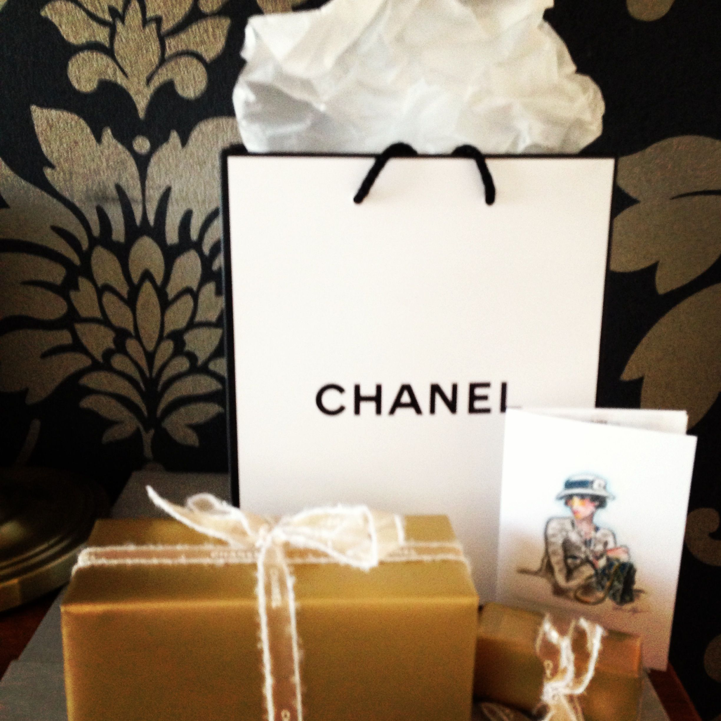 38c01312602a8b Chanel gift wrap Gift Wrap, Coco Chanel, Wrapping, Present Wrapping, Gift  Wrapping