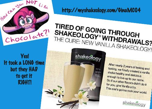 Oh yes they DID!  Vanilla Shakeology is here!  25% discount for coaches! www.ginasfitlife.com