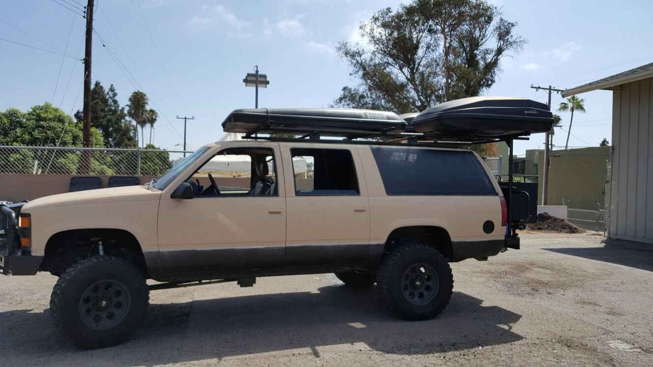 My 1997 Chevy Suburban Overland Build Only Issue Is That I Made
