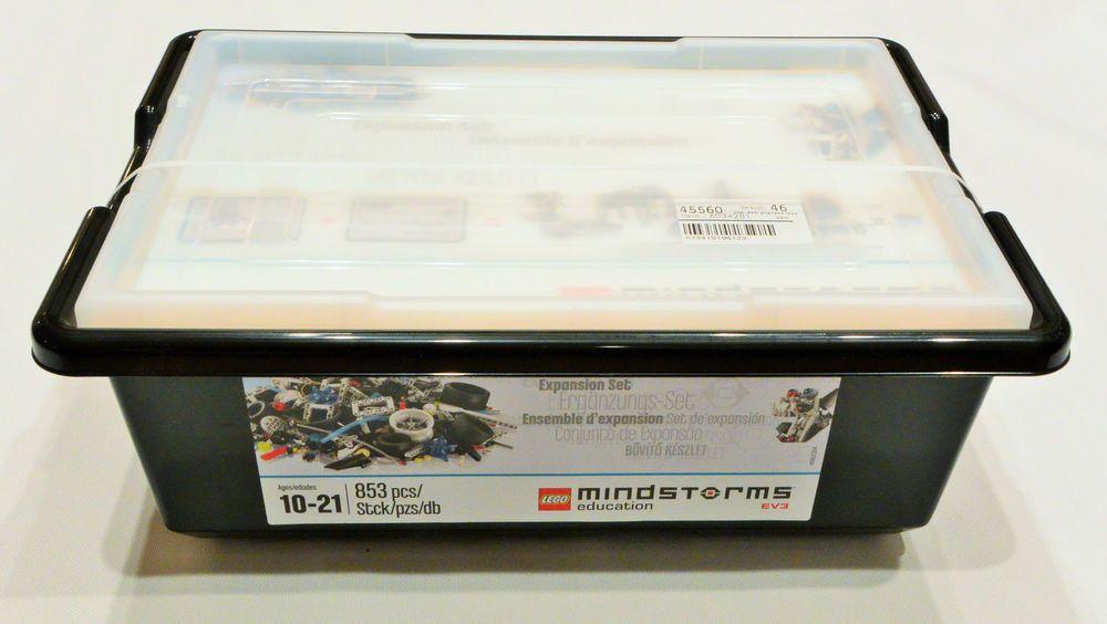 new LEGO 45560 MINDSTORMS EDUCATION EV3 Expansion Set 853 pieces ...