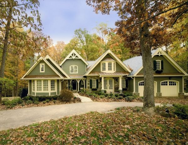 Exterior Paint Color Schemes Ideas Olive Green Color Palette