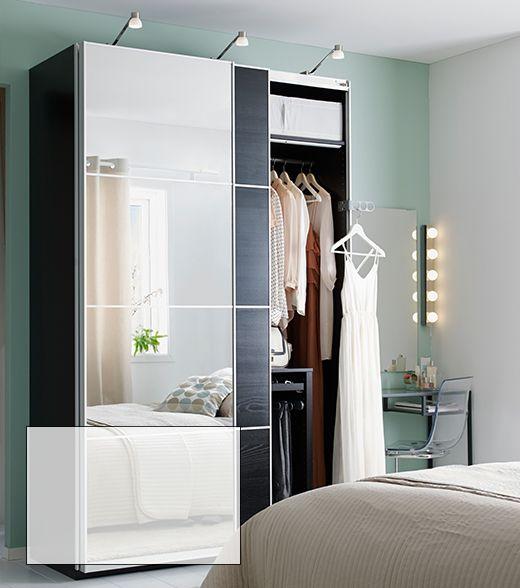 PAX   AULI   ILSENG wardrobe combination House design Pinterest