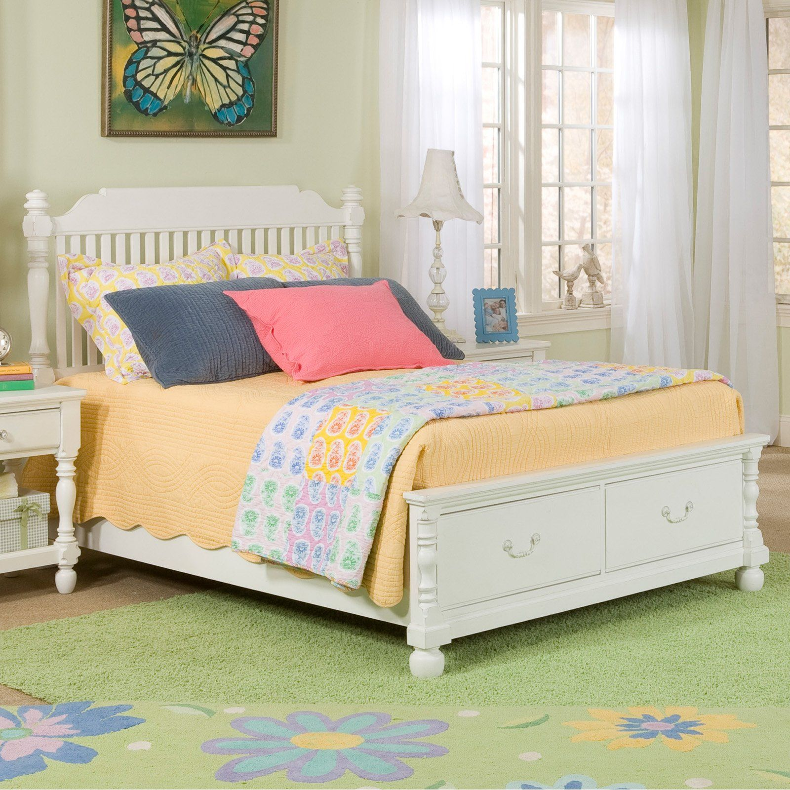 Have to have it. Olivia Low Post Storage Bed $1069.99