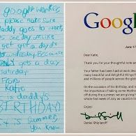 Google worker's daughter request to Google and their amazing reply...