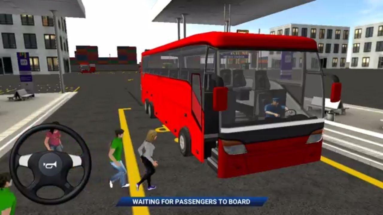 Euro Bus Simulator 2018 Bus Transport Passengers Android Gameplay