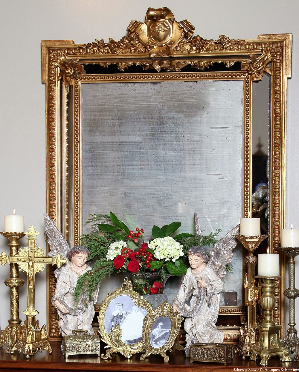Big Vintage Mirrors For Sale